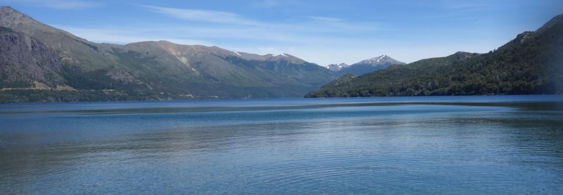 Balade en kayak sur les lacs de Bariloche